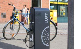 Pompe à vélo publique - Kiel