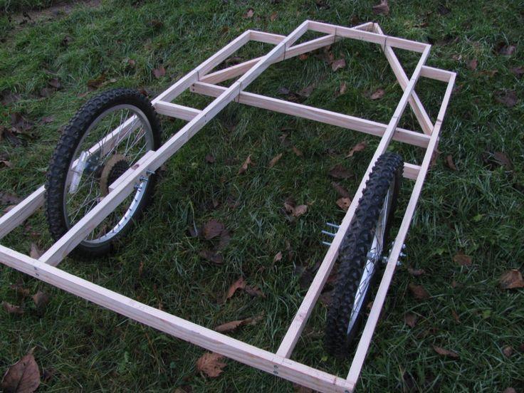 Diy Bike Shelter : Best images about diy bicycle camper trailer on