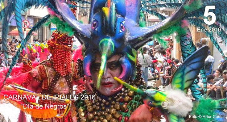 2016 | COLOMBIA - CARNAVAL DE IPIALES. Por  IPITIMES.COM /Artur Coral (IPITIMES - 8 ENE 2016)