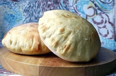Obrázek z Recept - Pitta chléb