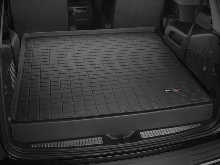 2017 Chevrolet Tahoe Weathertech Custom Cargo Liners Mat Whips Cars