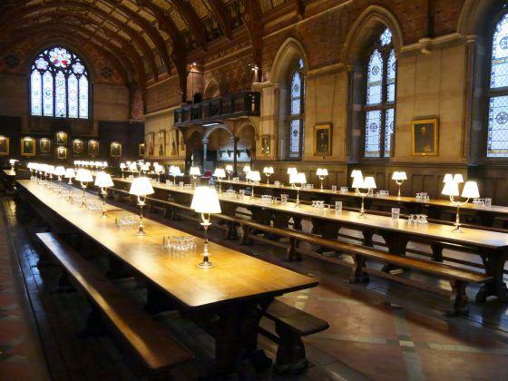 歴史あふれる食堂で朝食をとれるオックスフォード大学の学生寮に泊まってみました - GIGAZINE