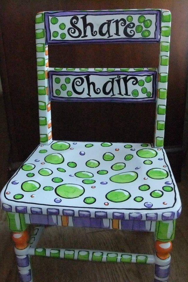 Share Chair for Show and Share time