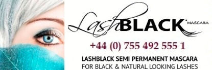 Affordable Semi Permanent Mascara.  Just launched in the UK.  LashBlack.  Glides on smoothly easy to apply with no clumps whatsoever.  Lasts 2-3 weeks with no damage to your natural lashes and no maintenence is required! www.vzhairandglamour.com