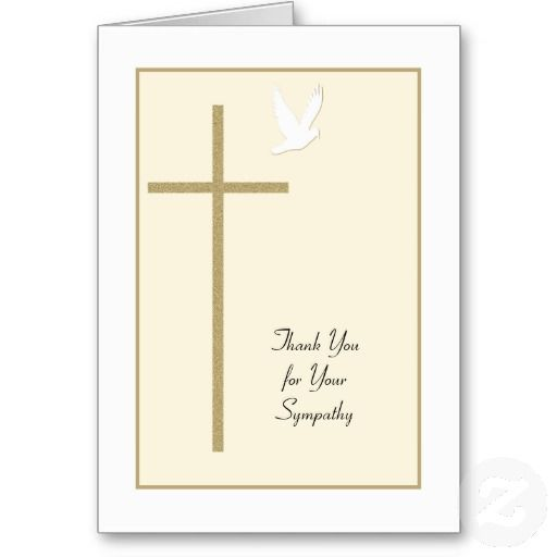 Best Sympathy Thank You Cards Images On   Index Cards