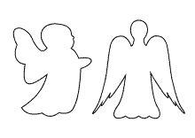Bildergebnis für engelsflügel vorlage zum ausdrucken
