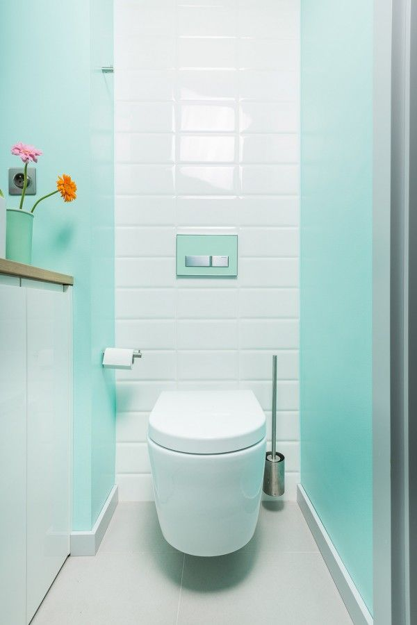 a lovely mint green bathroom is instantly inviting and vibrant much more so than a