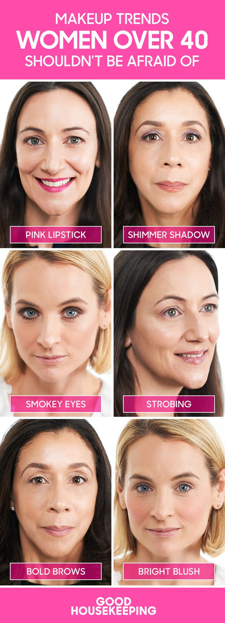 makeup looks for over 40s dating