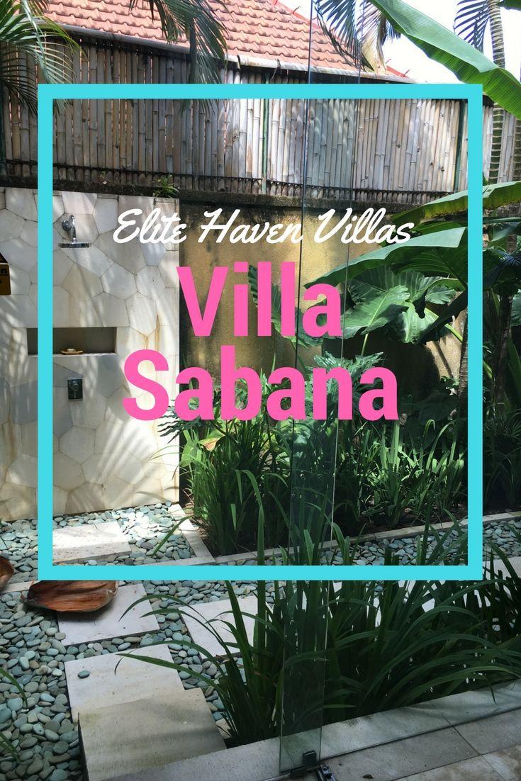 Our look through Villa Sabana in Canggu, Bali with Elite Havens