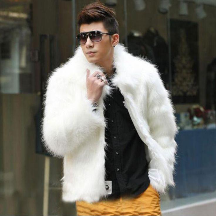 1000  ideas about Men&39s Fur &amp Faux Fur Coats on Pinterest | Mens