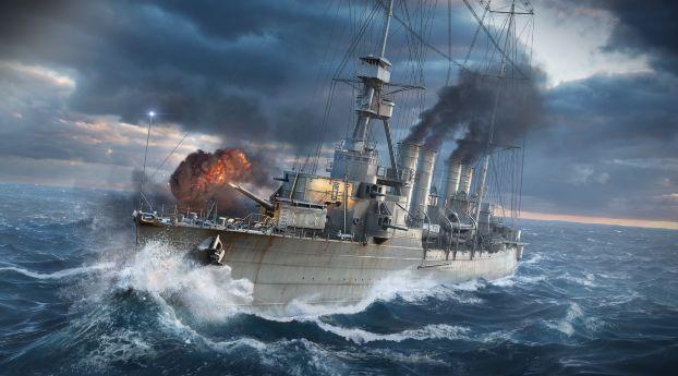 Wows World Of Warships Ship Wallpaper Hd Games 4k Wallpapers Wallpapers Den World Of Warships Wallpaper Warship Battle Of Warships World of warships wallpaper 4k