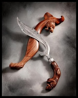 The kujang is a blade weapon native to the Sundanese people of West Java, Indonesia.