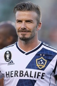 David Beckham - Soccer / Football Boss! Get his soccer jersey here at soccercorner.com
