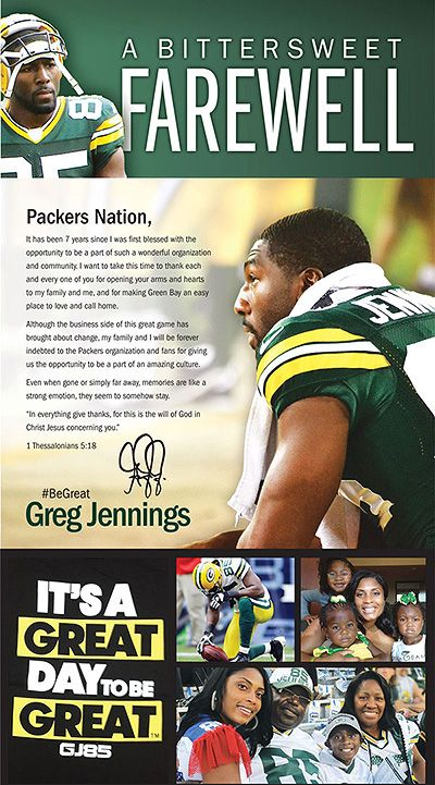 Jennings left for their biggest rivals... then said thanks with an ad... Amazing Move!