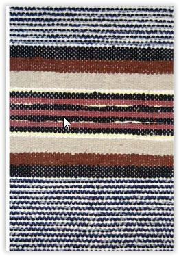 Hirsiaitta, TaitoSatakunta / Traditional Finnish Rag Rug