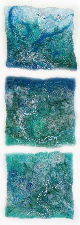 Healy & Burke Textile Art - Original Fine Art Felt Gallery