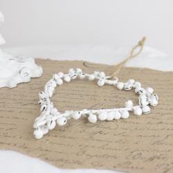 Hjärta med bjällror - antikvit