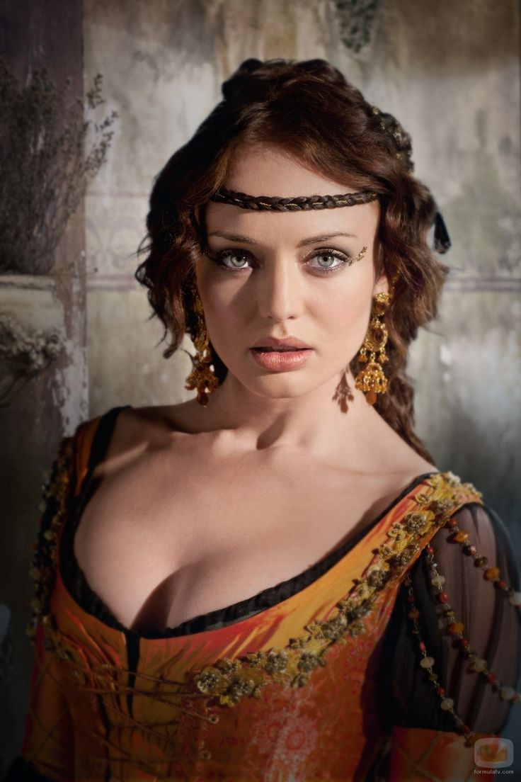 Lucrezia Donati - Da Vinci's Demons Spring season's most beautiful actress.