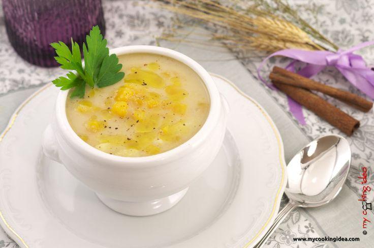 Zuppa di amaranto e zucca, ricetta - My cooking idea http://www.mycookingidea.com/2014/11/zuppa-di-amaranto-e-zucca/