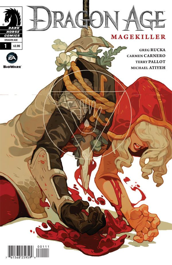 Dragon Age - Magekiller #001 - 2016 - Cover by Sachin Teng ----