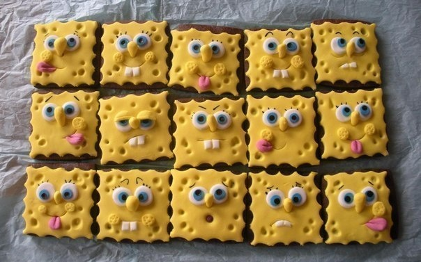 Печенье Спанч Боб