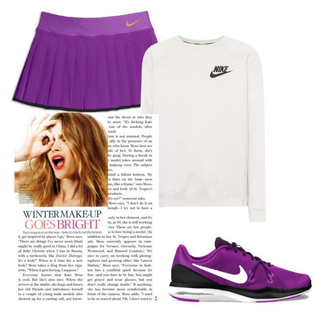 """Training"" by isagarcia18 on Polyvore featuring moda, NIKE y Celestine"