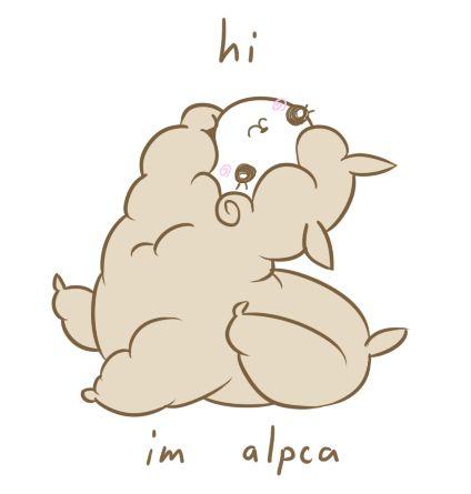 Alpaca Illustration | I luv ALPACAS | Pinterest | Kawaii ...
