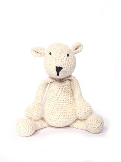 Crochet Panda Amigurumi Pattern: British alpaca DK panda.