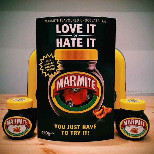 Love it or Hate it, Now Marmite Launches....an Easter Egg? - Print (image) - Creativity Online