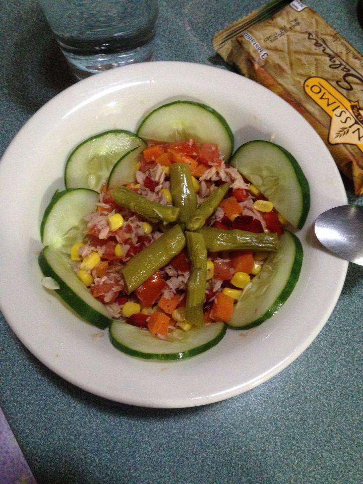 Cena nutritiva at n en agua light con ma z dulce chile - Dulce de zanahoria ...
