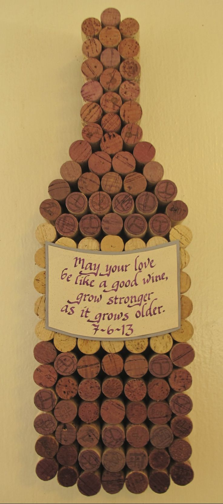Great wedding gift idea for wine lovers! Made-to-order on Etsy: https://www.etsy.com/listing/94370001/handmade-wine-cork-wine-bottle-cork?ref=shop_home_active