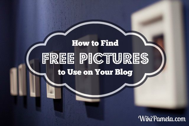 How to Find Free Pictures to Use on Your Blog - It's a problem that a lot of bloggers have... finding images that won't break the bank. Here's my secret to finding free pictures to use on your blog. www.wikipamela.com