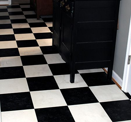 how to easily clean grimy vinyl floors, cleaning tips, flooring, tile flooring, It s so nice to have a clean floor in my kitchen again