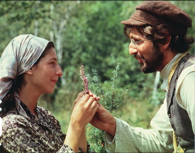 """Tzeitel and Motel, Fiddler on the Roof  """"out of a worthless lump of clay, God has made a man today"""""""