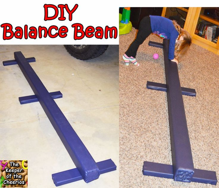The Keeper of the Cheerios: DIY Balance Beam