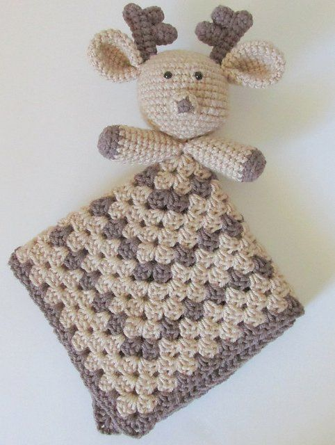 Crochet Deer Lovey Pattern