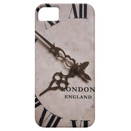 vintage English clock, antique london clock iPhone 5/5S Case  #ipadcase #case