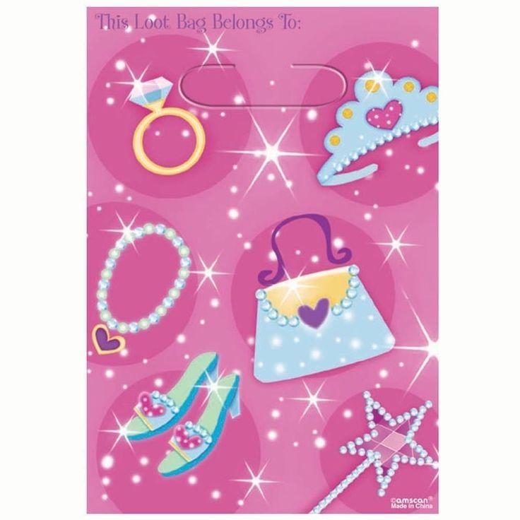 Loot Bags 1st Birthday Boys Balloons 8 Pk: Best 20+ Happy Birthday Princess Ideas On Pinterest