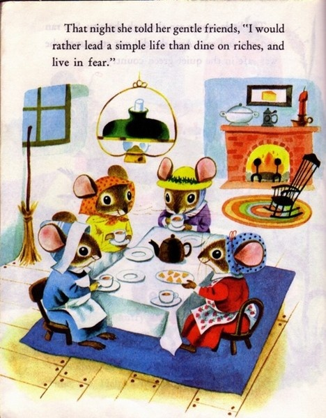 country mouseMice, Richard Scarry, Simple Life, Cities Mouse, Childhood Book, The Cities, Children Books, Country Mouse, Gentle Friends