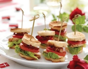 Mini clubsandwich