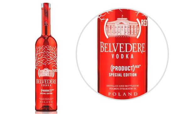 Special Edition Belvedere RED Pure Vodka - 700ml