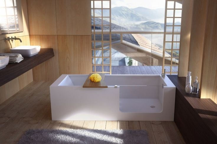 Baños modernos con bañera - cincuenta diseños en 2020 ...