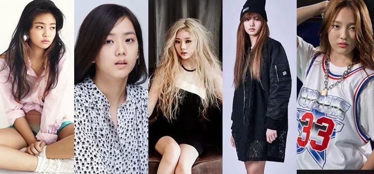 yg girl group, yg new girl group, yg pink punk, kim ji soo, jenny kim, moon sua, hanna jang, lalisa, yg lisa, yg hanna, yg jenny, yg jisoo, new yg group, 2016 debut, yg debut, pink punk profile, yg girl group profile