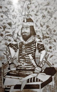 """Timur (Turkish: Demir """"iron"""", Persian: تمور Timūr, Chagatai: Temür """"iron""""; 8 April 1336 – 18 February 1405), historically known as Tamerlane (from Persian: تيمور لنگ, Timūr-i Lang, Aksak Timur """"Timur the Lame"""" in Turkish), was a Turkic descendant of Genghis Khan, who conquered West, South and Central Asia, and the founder of the Timurid dynasty."""