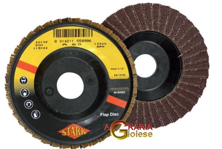 DISCO ABRASIVO A LAMELLE MM.115X22 GR. 60 http://www.decariashop.it/accessori-per-elettroutensili/4530-disco-abrasivo-a-lamelle-mm115x22-gr-60-8012028002159.html