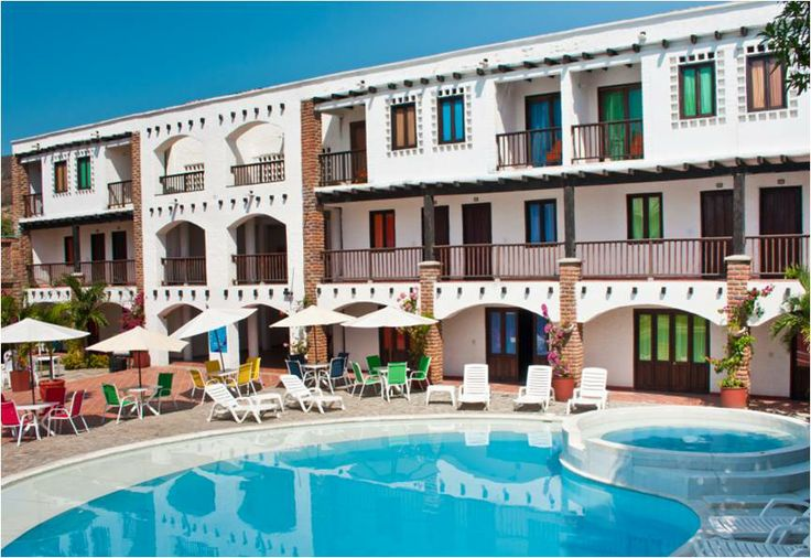 Panorámica del hotel Sansiraka en Santa Marta