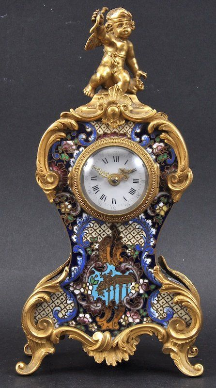 A 19th Century French Mantle Clock