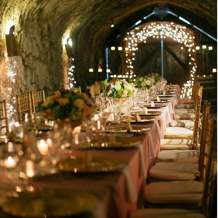 Unique wedding venue at a wine cellar in France !