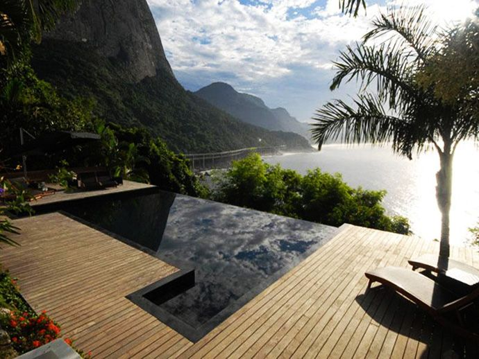 Spectacular Dwelling with Unique Views of the Ocean, Mountains and City of Rio de Janeiro, Brazil