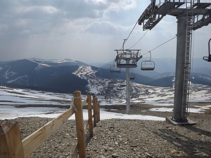 chairlift - Ranca, Romania